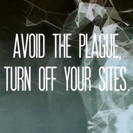 Turn Off Your Sites